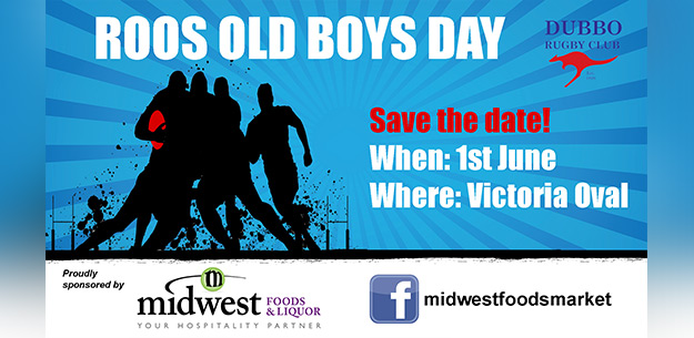 Roos Old Boy Day - Save the Date